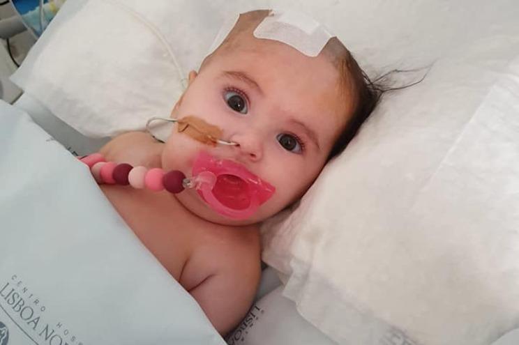 Matilde recupera no hospital