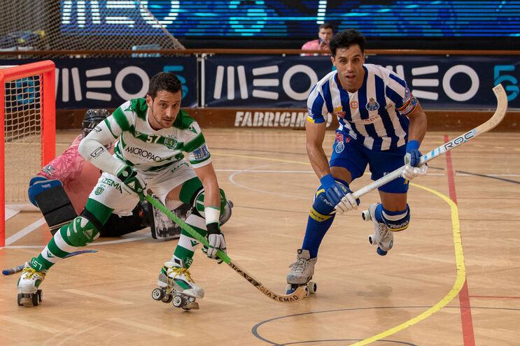 O Sporting venceu o F. C. Porto este domingo