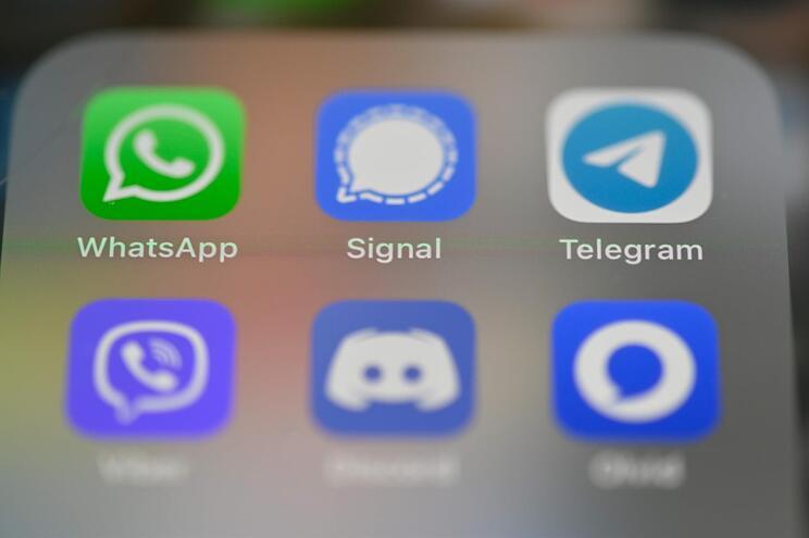 Signal e Telegram têm crescido em janeiro