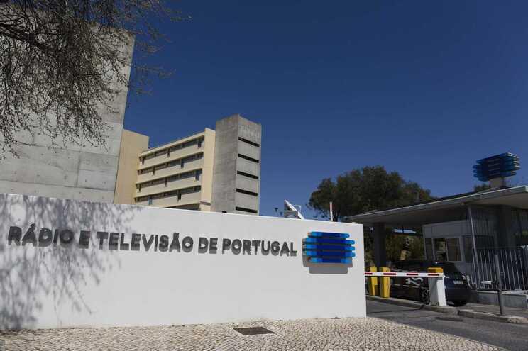 A sede da estação pública RTP, Rádio Televisão de Portugal, na Avenida Marechal Gomes da Costa, em Lisboa