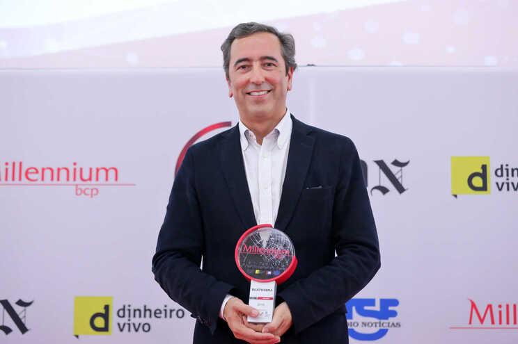O presidente da Bluepharma, Paulo Barradas Rebelo