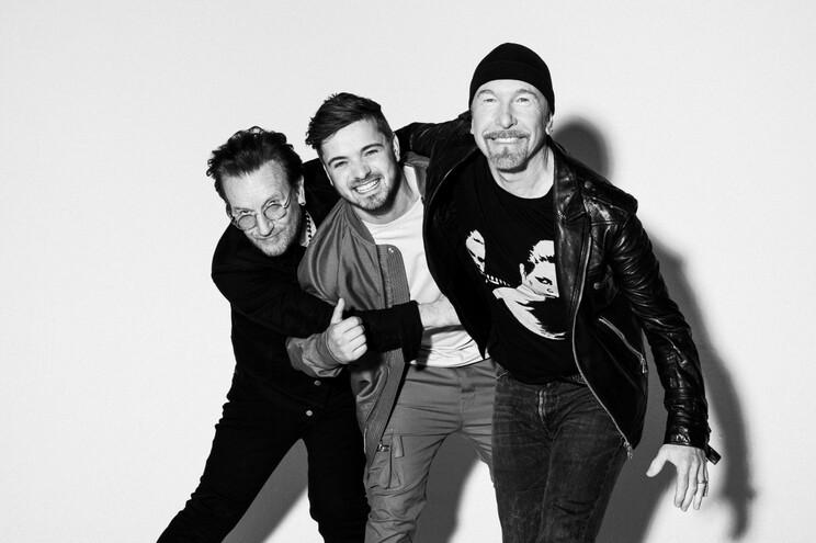 Bono, Martin Garrix e The Edge