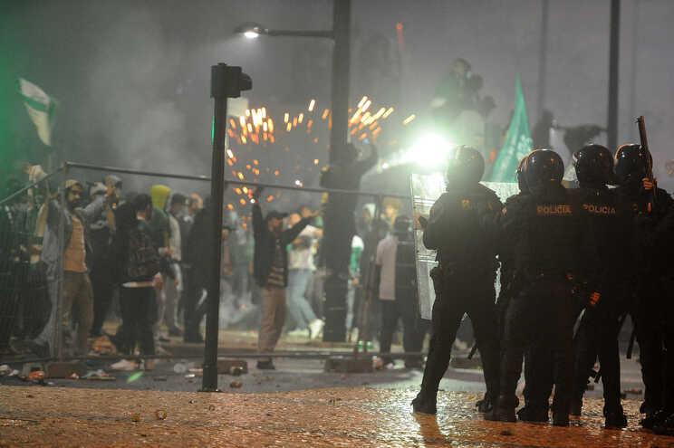 Festejos no Marquês de Pombal, em Lisboa, marcado por violência