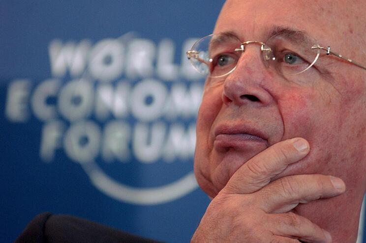 Klaus Schwab, fundador e presidente do Fórum Económico Mundial