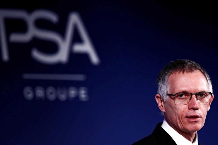 O português Carlos Tavares, CEO e Chairman do grupo PSA