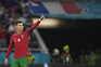 Ronaldo bisou no jogo com a França
