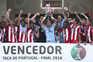O Aves conquistou a Taça de Portugal em 2018 ao vencer o Sporting na final