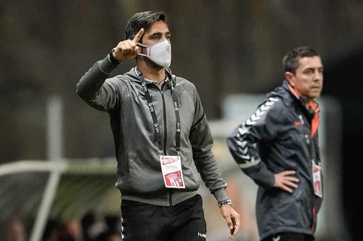 Custódio substituiu Rúben Amorim no comando técnico do S. C. Braga