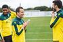 João Pereira e Matheus Reis já treinaram com o plantel do Sporting