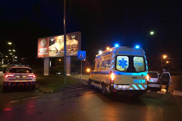 Homem atropelado em passadeira de Braga sofre traumatismo craniano