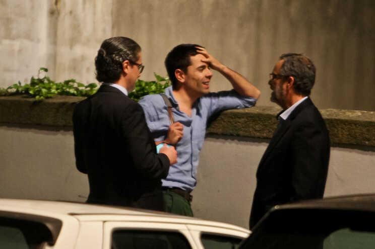 Gonçalo Rodrigues, ex-funcionário do Sporting (ao centro), foi acusado