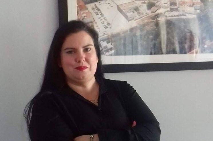 A candidata do CDS-PP à Junta de Freguesia de Palmela, Linda Oliveira