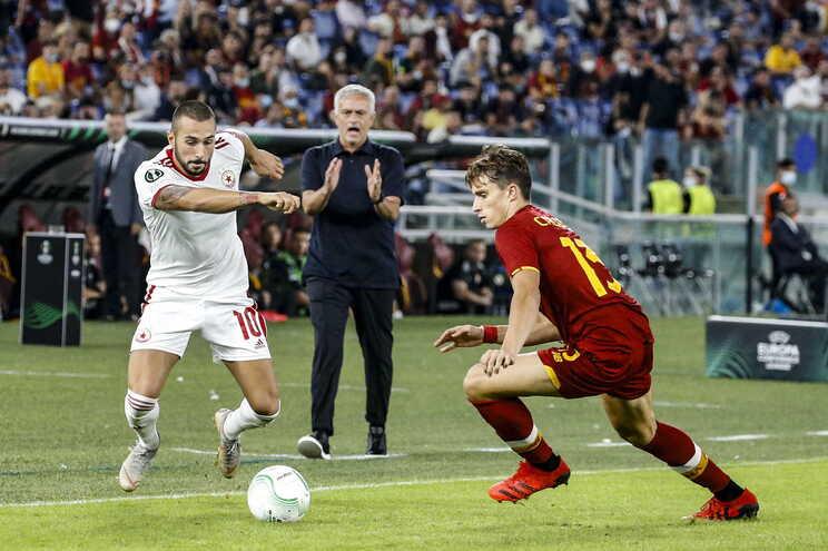 José Mourinho, treinador da AS Roma