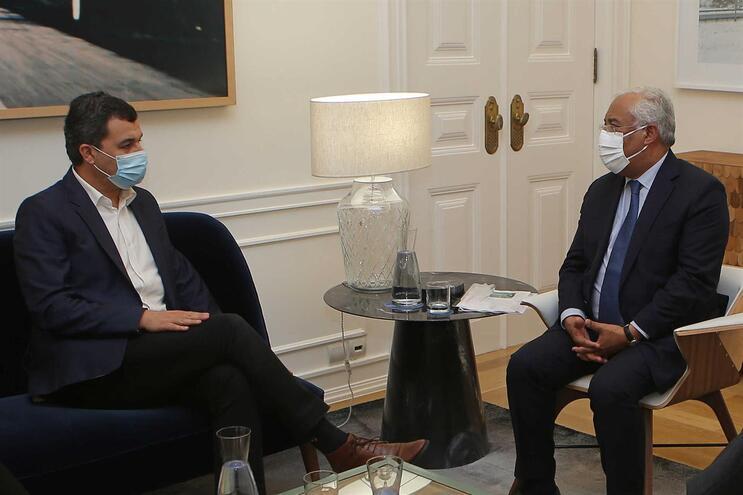 PAN esteve reunido com o primeiro-ministro em São Bento