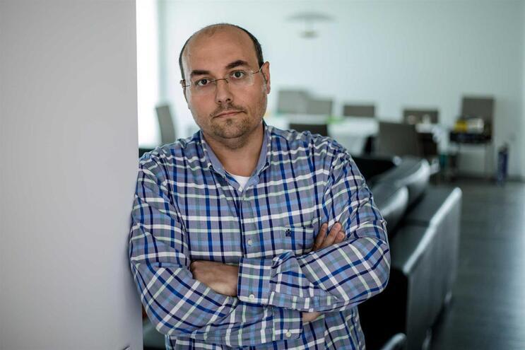 Pedro Gonçalves, 38 anos.Enfermeiro no Hospital de Guimarães