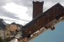 Fábio Brenand Cruz e Isabel Neves vivem em Petange, região afetada por um tornado