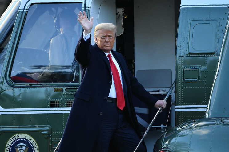 Trump despediu-se, esta quarta-feira, da Casa Branca