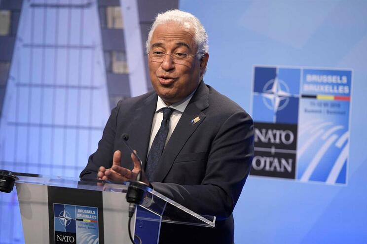 António Costa após cimeira da NATO