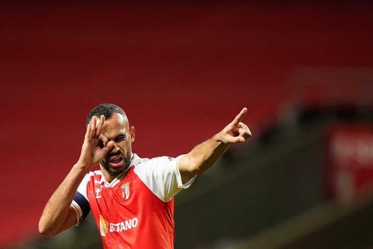 Fransergio, capitão da equipa de futebol do Sporting de Braga