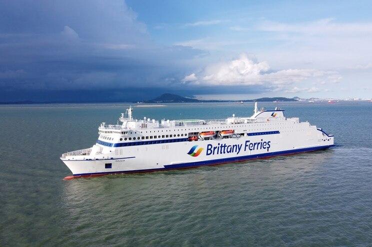 Embarcações da Brittany Ferries podem acolher mais de dois mil passageiros