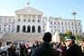 Lisboa: uma centena sem máscara em manifestação contra as medidas restritivas