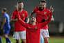O Benfica venceu esta segunda-feira