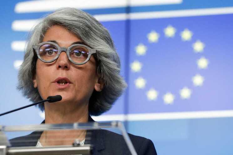 A ministra da Cultura, Graça Fonseca, presidiu a reunião