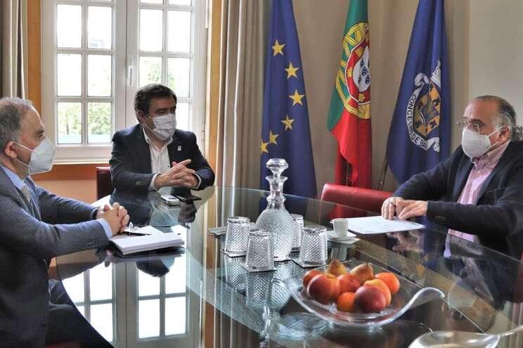 Reunião entre autarca de Baião e presidente do Centro Hospitalar do Tâmega e Sousa