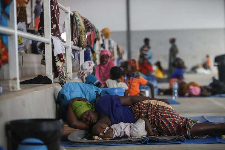 Conflito provocou milhares de deslocados no norte de Moçambique