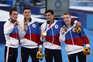 Rússia acaba com domínio asiático no concurso masculino na ginástica artística