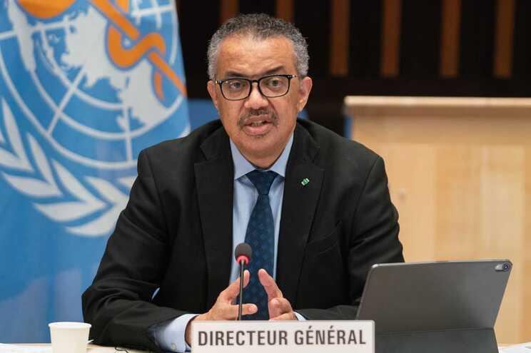 O diretor-geral da Organização Mundial da Saúde (OMS), Tedros Adhanom Ghebreyesus