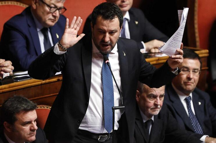 Matteo Salvini, ex-ministro do Interior de Itália