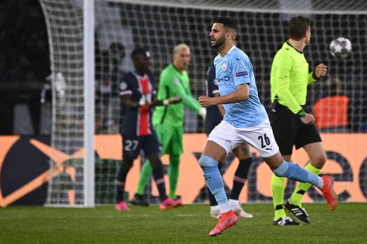 Manchester City foi ganhar ao recinto do PSG para as meias-finais da Champions