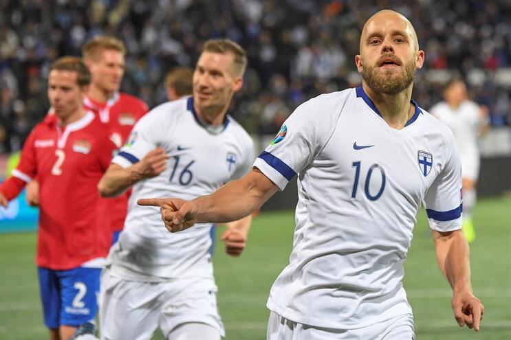 Finlândia faz história ao qualificar-se para a fase final do Euro 2020