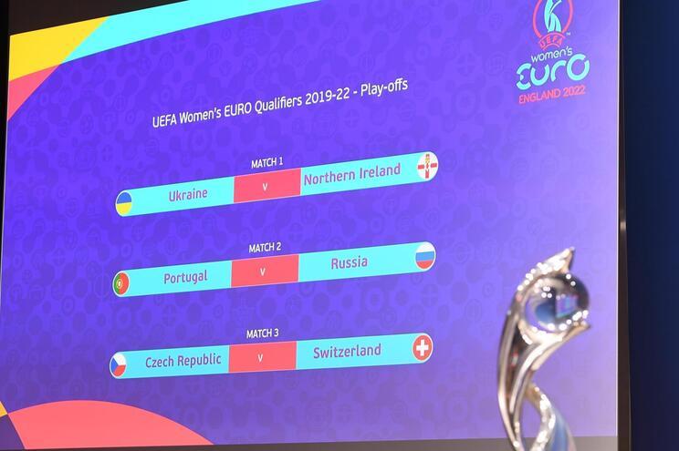 """Portugal defronta Rússia no """"play-off"""" de acesso ao Europeu feminino de 2022"""
