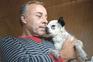"""""""Deco"""", o cão esquecido e não abandonado, voltou a casa"""
