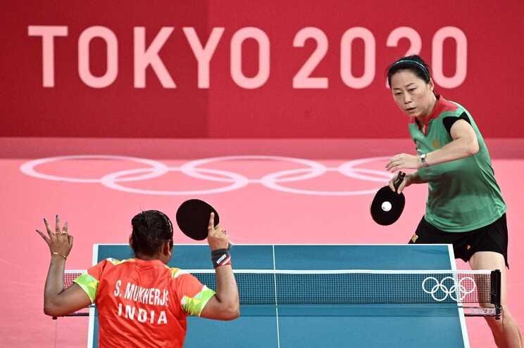 Fu Yu perdeu com a japonesa Mima Ito por 4-1