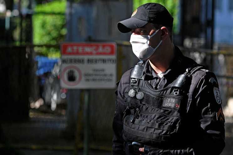 Operação decorreu na favela do Jacarezinho