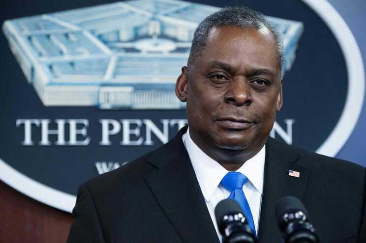 O secretário da Defesa dos EUA, Lloyd Austin