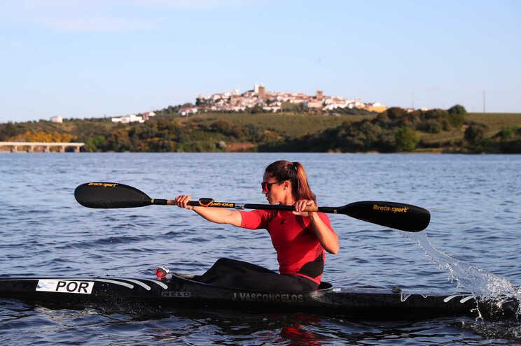 Canoísta Joana Vasconcelos segue para os quartos de final em K1 200