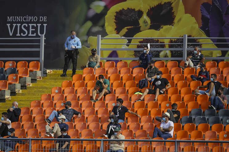 Estádio do Fontelo, em Viseu, vai entrar em obras e deixa o Académico de Viseu sem casa