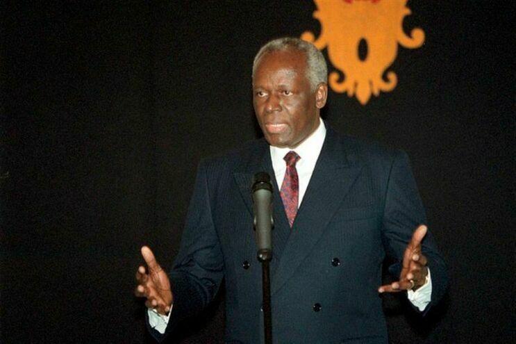 O ex-presidente de Angola, José Eduardo dos Santos