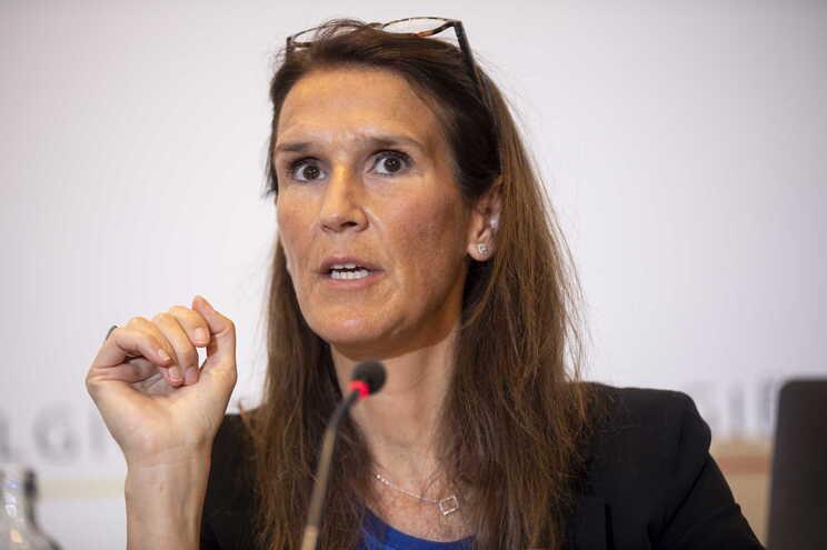 Sophie Wilmès, ministra dos Negócios Estrangeiros belga