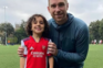 Arsenal contrata menino de quatro anos