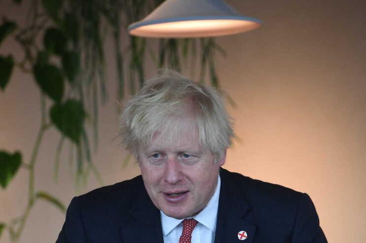 O primeiro-ministro britânico, Boris Johnson