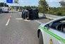 Um ferido grave em acidente na A29