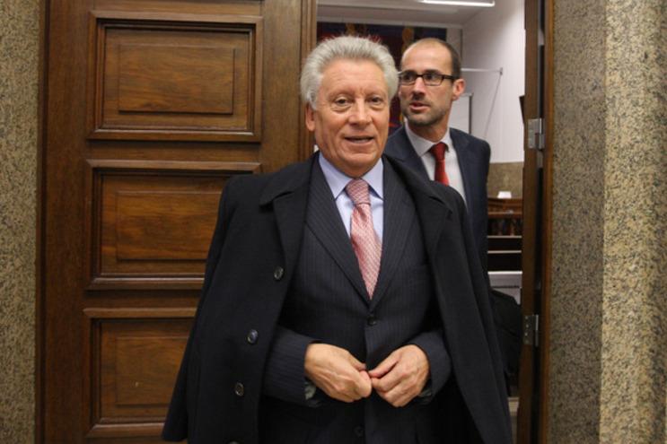 José Penedos à saída de uma das sessões do julgamento, em 2011