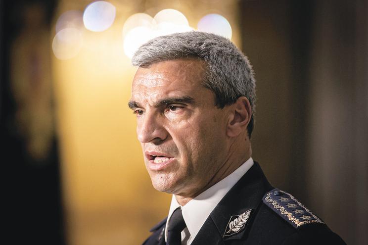 Diretor Nacional da PSP, Magina da Silva, enviou mensagem aos polícias a garantir legalidade do processo