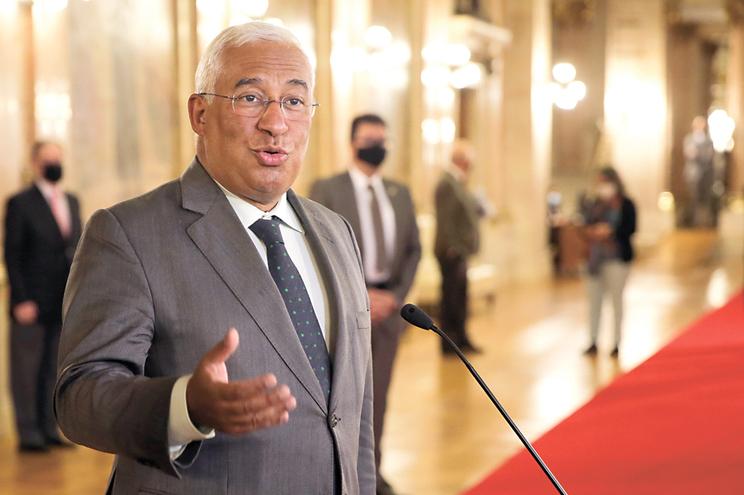 O primeiro-ministro Antonio Costa