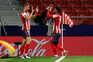 O Atlético de Madrid venceu este sábado